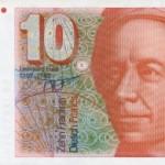 Random image: Euler-10_Swiss_Franc_banknote_(front)
